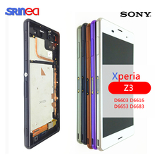 5.2'' LCD For SONY Xperia Z3 LCD Display Touch Screen D6603 D6616 D6653 D6683 D6633 LCD Replacement For Xperia Z3 Dual+Adhesive чехол для для мобильных телефонов for sony sony xperia z3 xperia z3 d6603 d6653 nfc for sony xperia z3 d6603 d6643 d6653 d6616