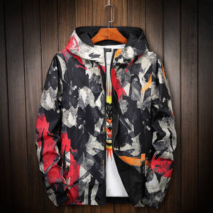 75ee2cfe8ed HETOBETO Camouflage Jacket Men Women Plus Size Camo Hooded Windbreaker  Jackets Military Canvas Jacket Parka Fashion Streetwear