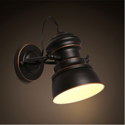 IWHD American Country Loft LED Wall lamp Industrial Vintage Retro Personality Wall Lights Fixtures For Home Lighting Luminaire iwhd loft style creative retro wheels droplight edison industrial vintage pendant light fixtures iron led hanging lamp lighting