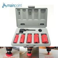 Mainpoint 7 Pcs HSS Bi Metal M3 Hole Saw Bit Cutting Set Kit 22 38mm Cutting