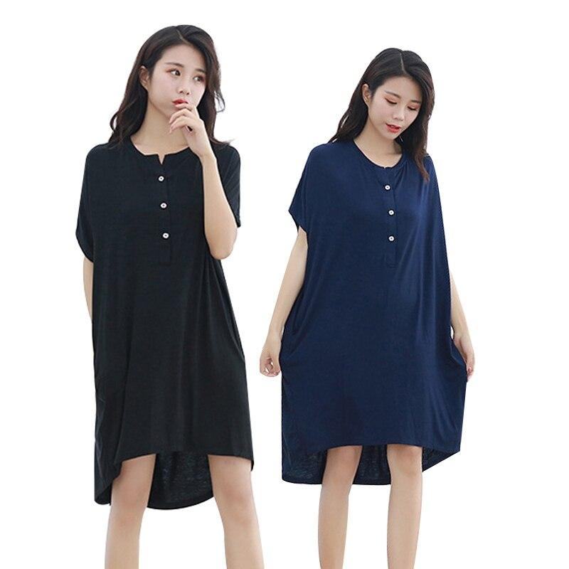Мягкая одежда для сна для беременных женщин; платье для беременных с короткими рукавами; Пижама для беременных женщин; сезон лето-осень; одежда для сна для беременных