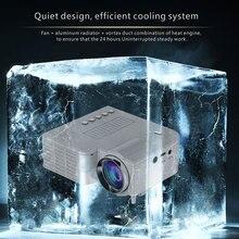 New Mini Official Store/Home Theater 400 Lumens 1080P HD Multimedia LED LCD Projectors TV/USB/VGA HDMI AV Cable Remote Control