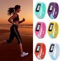 6 Colors Digital LCD Pedometer Watch Run Step Walking Jogging Distance Calorie Counter Bracelet Sport Watch Clock Reloj Hombre