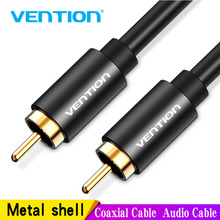 лучшая цена Vention RCA to RCA Male to Male Stereo Audio Cable 1m 1.5m 2m Coaxial Cable RCA Video Cable for TV Amplifier Home Male to Male