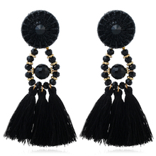 Women Brand Boho Drop Dangle Fringe Earring