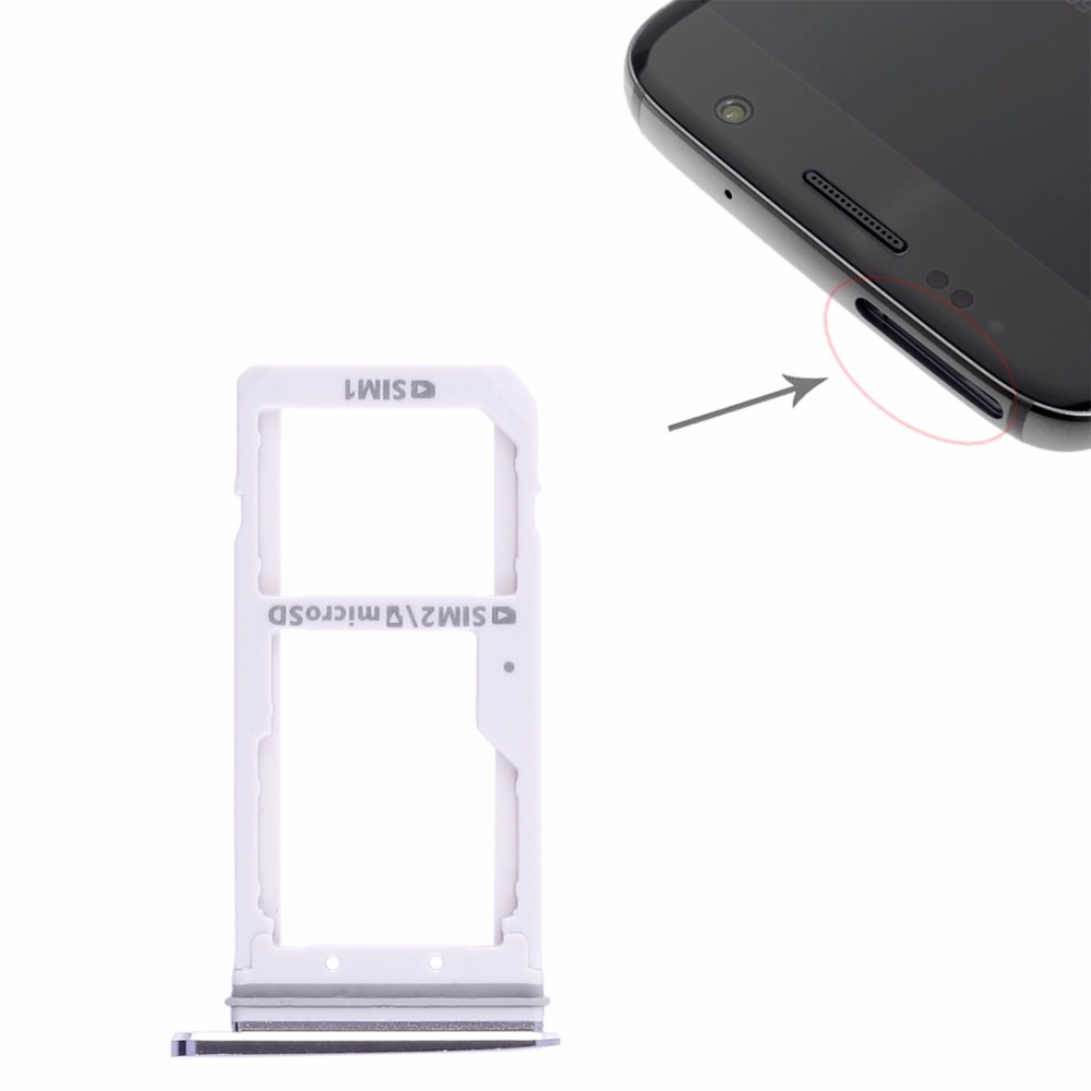 2 SIM Card Tray / Micro SD Card Tray for Samsung Galaxy S7 image