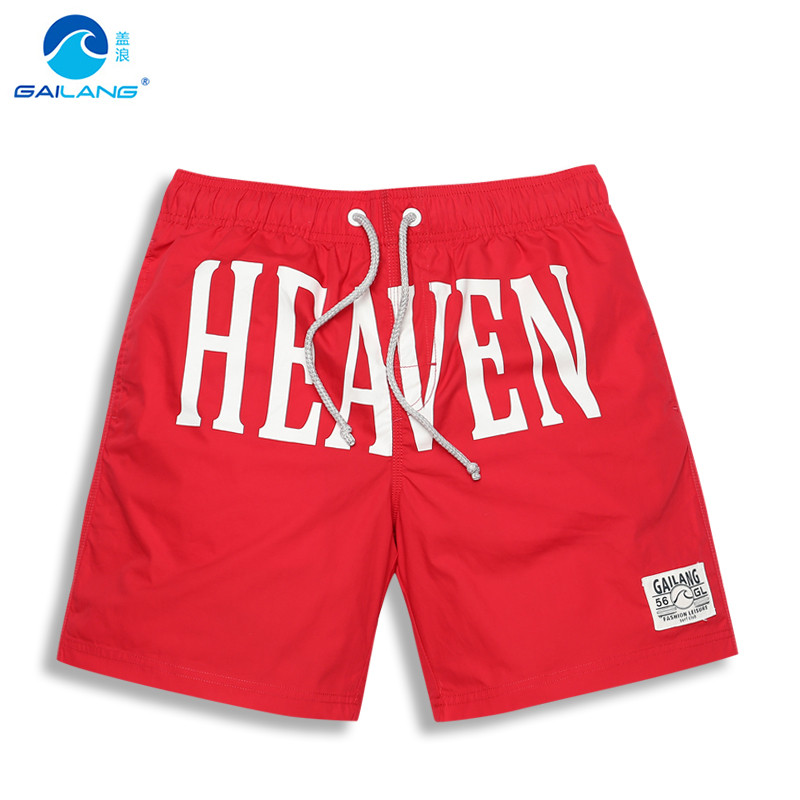 Gailang Surf Brand Shorts Mens RunningTrunks Men Board Shorts Sport Quick Dry Loose Plus Size S- 3XL Swimwear G5-MJ054