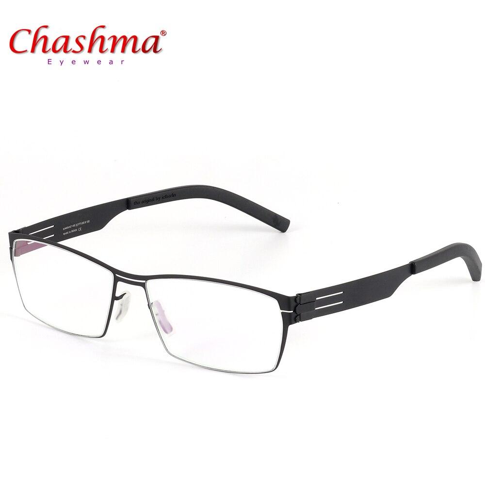 NEW High Quality Germany Unique No Screw Design Brand Eyeglasses Frames Men Myopia Spectacle Frame Glasses  Gafas De Grau