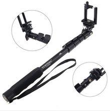 Monopod telescópico handheld extensível de yunteng 188 para câmeras smartphone móvel