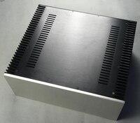 DIY Big class A aluminum amplifier enclosure chassis with heatsink 480*200*411mm