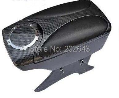 scatola di consolle per auto portaoggetti bracciolo centro pelle plastica 28 * 12 * 15 cm cuscino universale per auto aramest per KIA 2013 2014 Rio K2 vw