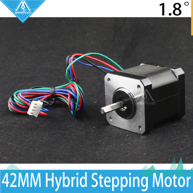 Free shipping wholesale 5pcs/lot 3D printing accessories 42 Stepper Motor 1.5 A 1.5 n1.8  The Zaxis  extruder screw motor drives