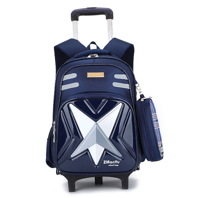 Removable Children School Bags with 2/6 Wheels for Girls Trolley Backpack Kids Wheeled Bag Bookbag travel luggage Mochila School Bags