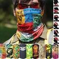 Outdoor Sport Snowboard scarf Tube Face Mask Neck Gaiter Biker Women Men Magic Scarf skull Headwear Ring Headband bandana st12