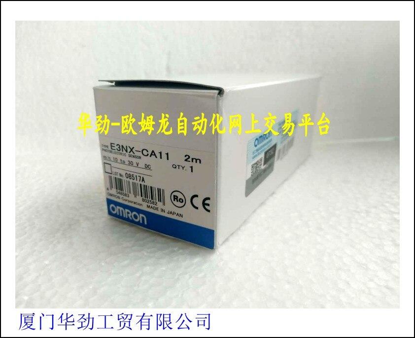 E3NX-CA11     Amplifier Color Fiber Optic Sensor Brand New Original Genuine Spot