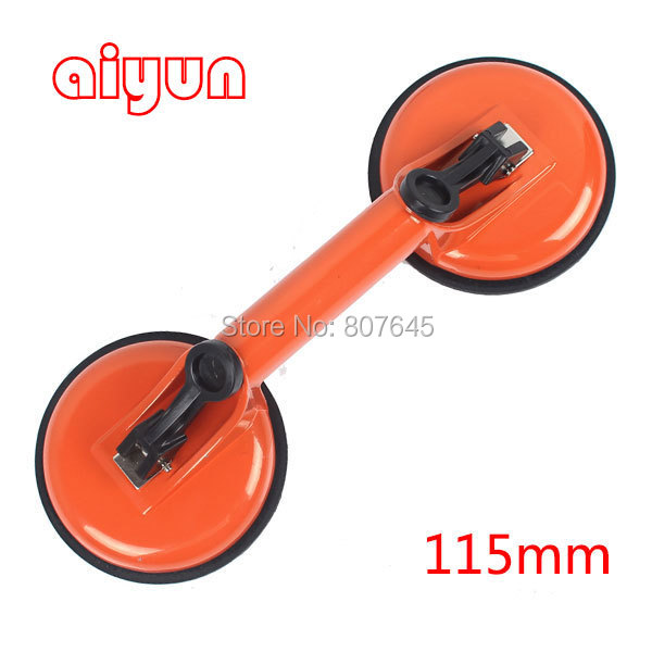115mm double cups of glass suction plate Large Dent Remover Sucker Puller Car Glass Suction Cup Lifte cute foot shaped double face suction cups mount mat purple