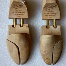 1 Pair Natrual Beech Wooden Shoe Tree Stretcher Shaper Keeper Adjustable Width Wooden Shoe Tree Stretcher Shaper