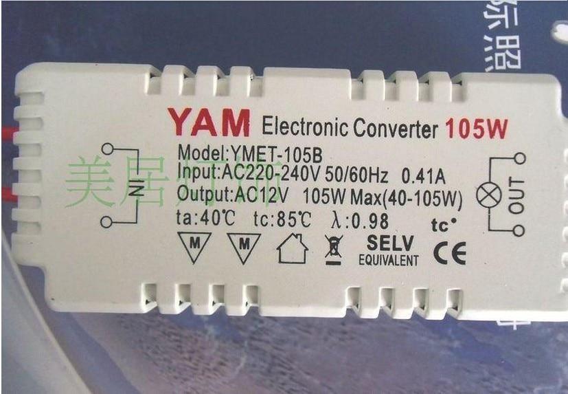 10pcs lot, 105w 12v 220v 240v halogen light led driver power supplyLed Driver Power Supply Electronic Transformer 105w 12v 220v 240v #11