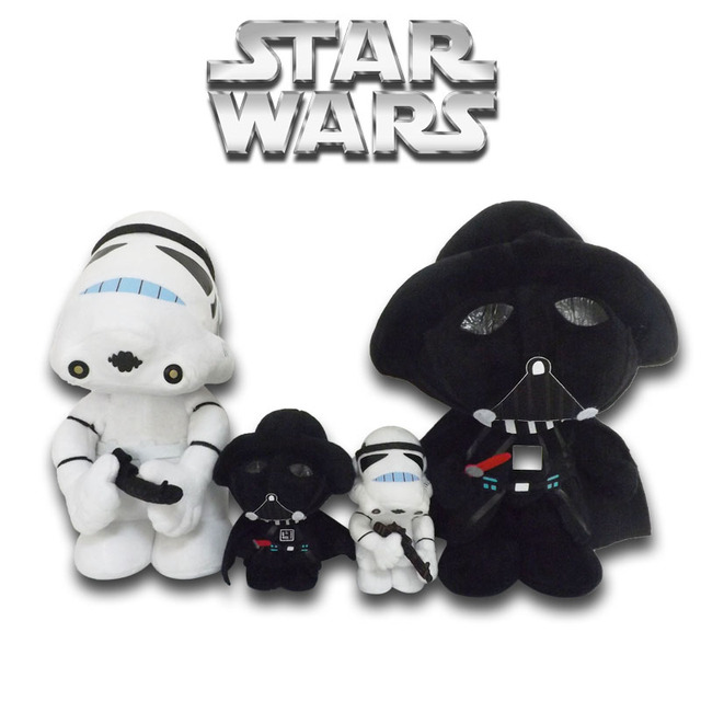 30cm Stuffed Toys Star Wars Darth Vader Plush Toys For Children Gift