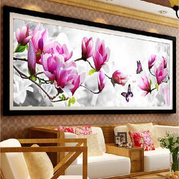 Iğne Dmc çapraz Dikiş Diy Nakış Kiti Seti Scenic Lale çiçek