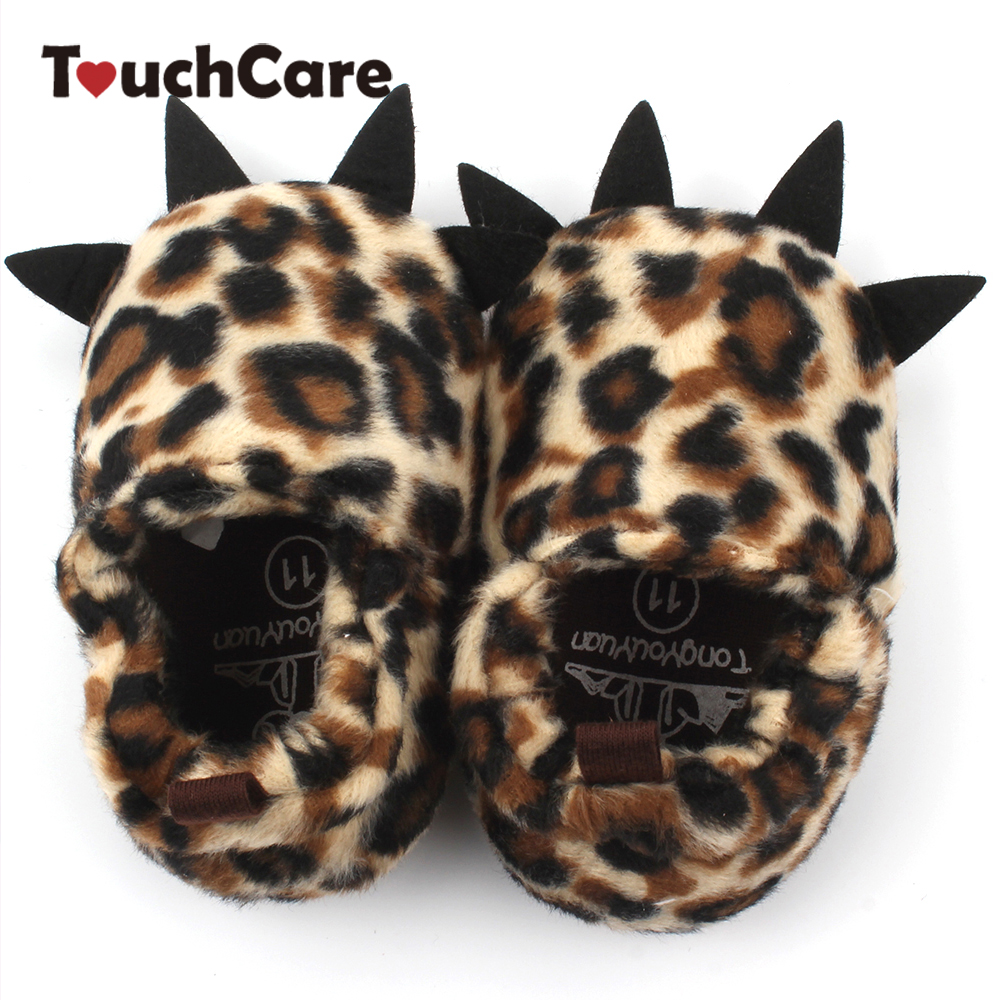 Clearance Newborn Cute Cartoon Animal Claws Baby First Walkers Soft Warm Coral Cashmere Toddler Snow Shoes Kids Monster Booty
