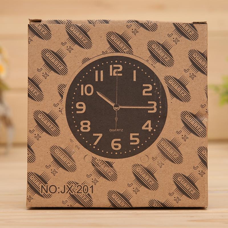 5Color Cube Quartz Սեղանի Ժամացույց - Տնային դեկոր - Լուսանկար 5