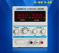 FREE SHIPPING ZHAOXIN TXN-1502D Adjustable DC Power Supply 15V 2A Power zhaoxin TXN-1502D