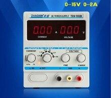 FREE SHIPPING ZHAOXIN TXN-1502D Adjustable DC Power Supply 15V 2A Power zhaoxin TXN-1502D adjustable dc power supply zhaoxin ps 305d 30v 5a 110 220v adjustment