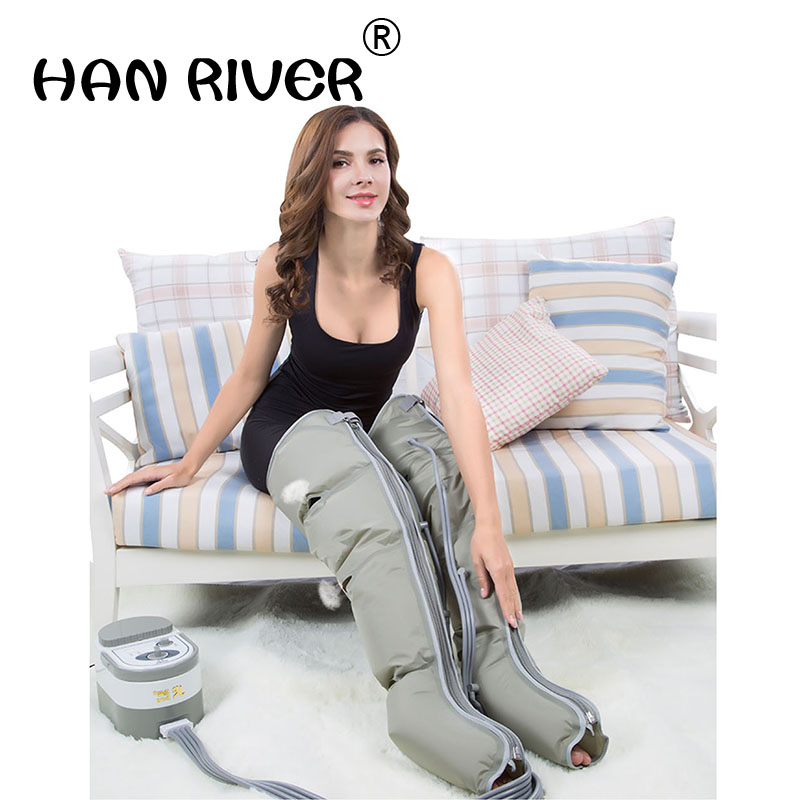 Air wave physical therapy pressure foot massage machine pneumatic automatic calf leg massager massager