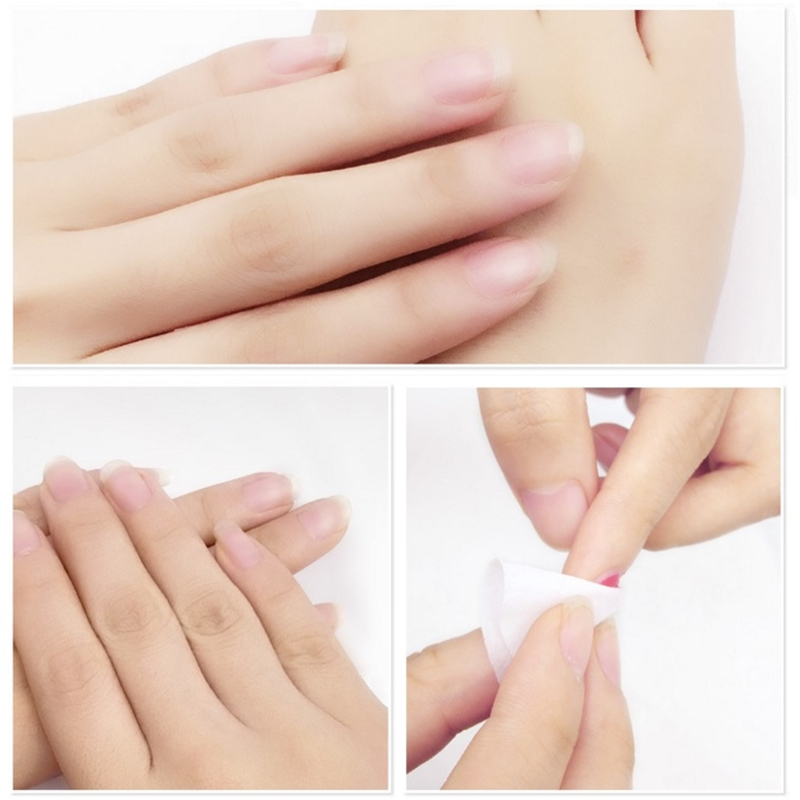 Plant Fruit Smell Essential Oil Unloading Nail Towel Cleaning Nourishing Nails Easily Remove Polish Without Injury In Remover From