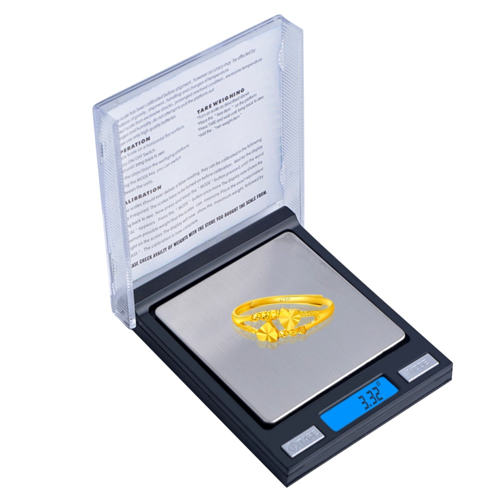 new 100g / 0.01g electronic pocket small CD box jewelry scale electronic weighting 0.01/100g digital scales