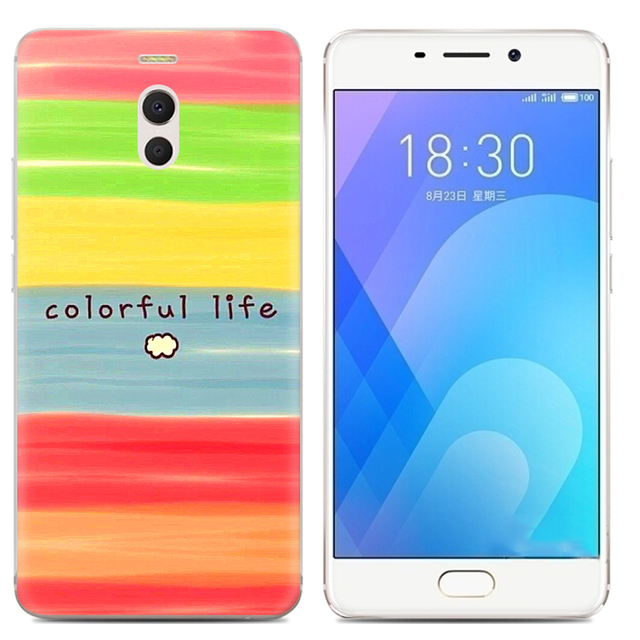 Drop Shipping TPU Soft Phone Case for Meizu M6 Note 6 5.5-inch Fashion Pattern Colorful Painted 2