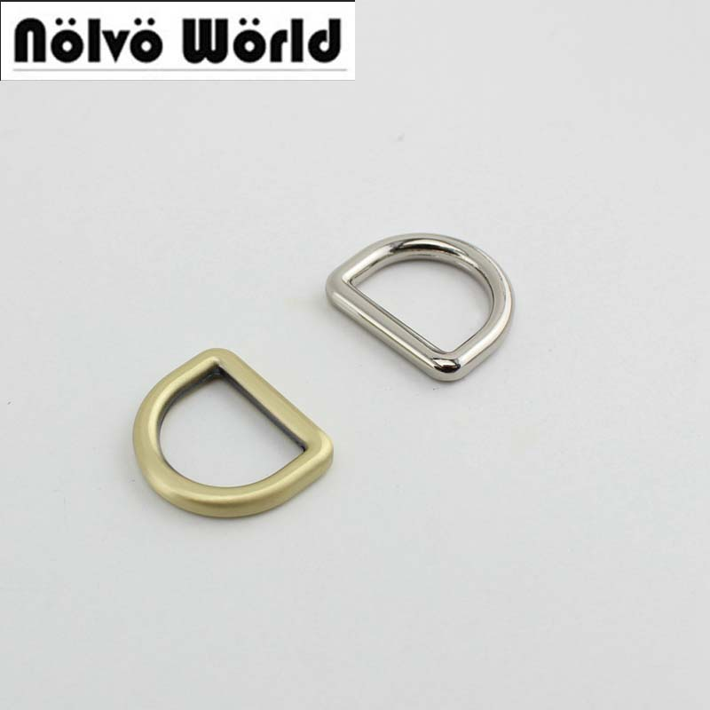 100pcs 5colors 20mm 4.0mm Ziny Alloy Gold Metal D Ring Diy Bags Strap Hardware Online Wholesale Shop Cheap 30pcs