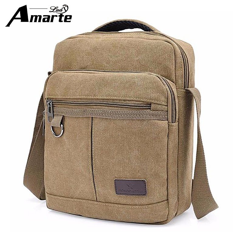 Amarte New Casual Fashion Men Bags Male Flap Bag Shoulder Crossbody Bags Handbags Messenger Small Men Leather Bag YM8810 mva genuine leather men s messenger bag men bag leather male flap small zipper casual shoulder crossbody bags for men bolsas