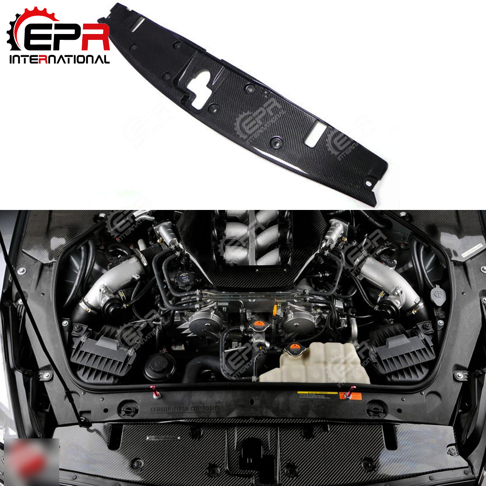 For Nissan R35 GTR Carbon Fiber Cooling Slam Panel Car Styling Accessories For R35 GT R