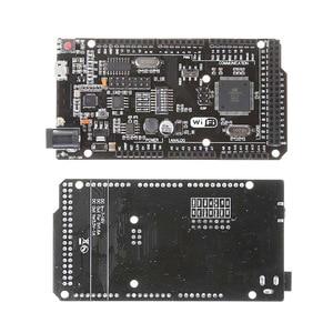 Mega2560 + WiFi R3 ATmega2560+ESP8266 32Mb memory USB-TTL Compatible for Arduino Mega NodeMCU For WeMos ESP8266(China)