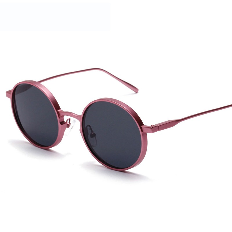 eff14d1b4c Ralferty Vintage Round Sunglasses Women Brand Designer Circle Sunglass  UV400 Sun Glasses For Women Pink Metal