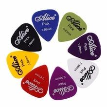 60pcs Guitar Picks 1 Box Case Alice Acoustic Electric Bass Plectrum Mediator Guitarra Musical Instrument Thickness Mix 0.58-1.5