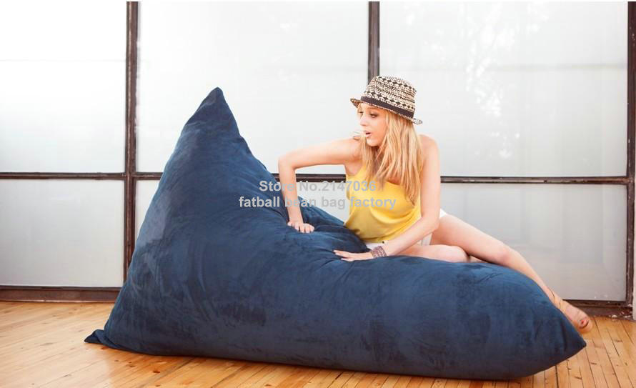 Strange Us 48 0 Elegant Cobalt Blue Bean Bag Chair Adults Outdoor Beanbag Sofa Seat Furniture In Living Room Sofas From Furniture On Aliexpress Inzonedesignstudio Interior Chair Design Inzonedesignstudiocom