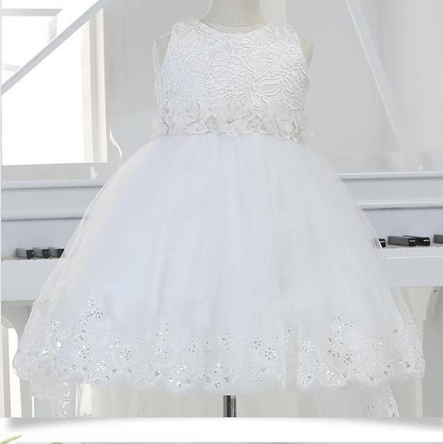 434de3daf Toddler Girl White Baptism Dress Christmas Costumes Baby Girls ...