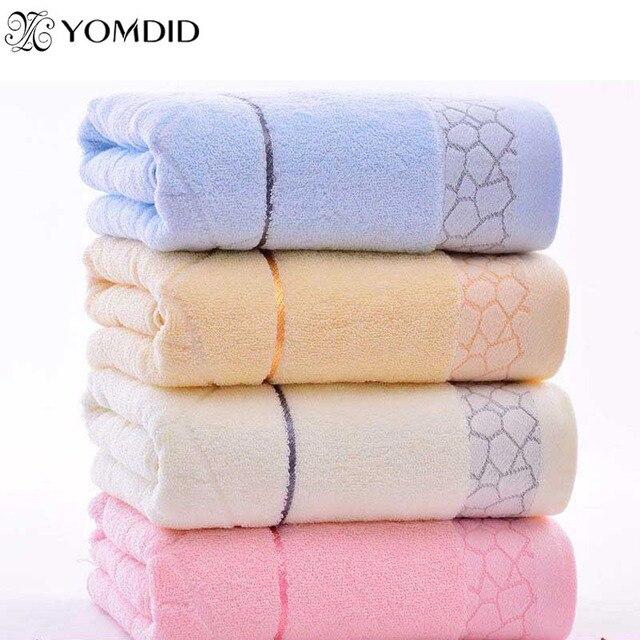 Hot sale 140x70cm Bath Towels 100% Cotton towel 6 Colors Avaliable Cotton Fiber Natural Eco-friendly Embroidered Bath Towel