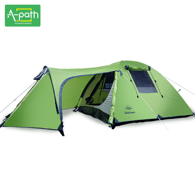 Outdoors Camping 3 4 Person Waterproof Double Layer Winter