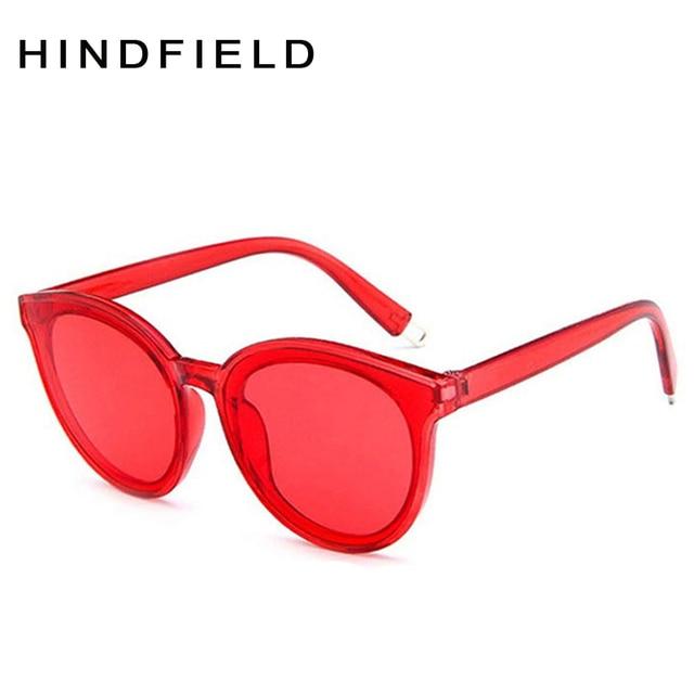Óculos de sol Mulheres Uv400 Moda óculos de Armação De Plástico Vermelho  Preto Big Quadro Óculos 1e2601391d