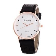 Stylish Gogoey Brand Watches Women Fashion Big Dial Quartz Watch Rhinestone Scale Wristwatches Elegant Relogio Feminino