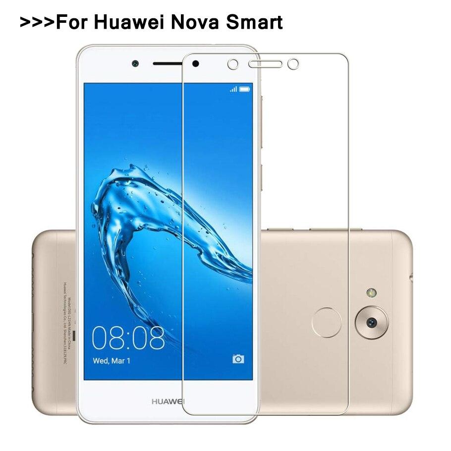 Для Huawei Nova Смарт не полное покрытие закаленное Стекло для Huawei Nova Smart dig-l01 ...