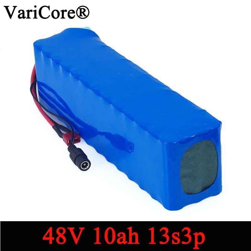 VariCore e bike battery 48v 10ah 18650 li ion battery pack bike conversion kit bafang 1000w 54.6v DIY batteries-in Battery Packs from Consumer Electronics