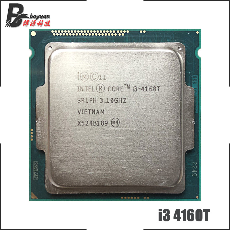 Intel Core i3 4160T i3 4160T 3 1 GHz Dual Core CPU Processor 3M 35W LGA