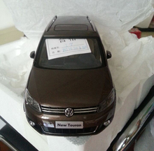 *Brown 1:18 Volkswagen VW Touran 2011 Diecast Model Car Classical MPV Collection Off Road Commercial Vehicle