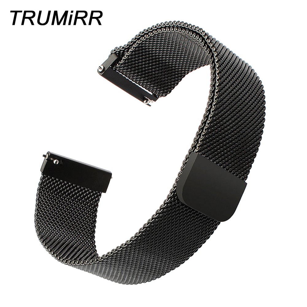 Milanese Loop Watchband Magnet Strap for Diesel Casio Seiko Citizen Armani Timex Stainless Steel Watch Band 14/16/18/20/22/24mm