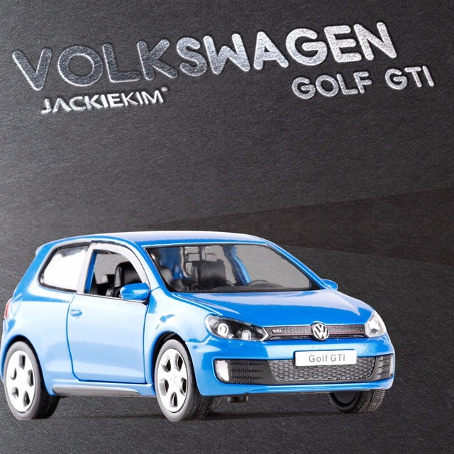 New RMZ City 1 36 VW Golf GTI MK6 Alloy Car Model Diecast Metal With